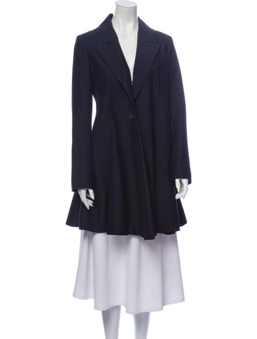 Christian Dior Coat Blue
