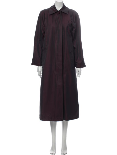 Christian Dior Vintage Trench Coat Purple