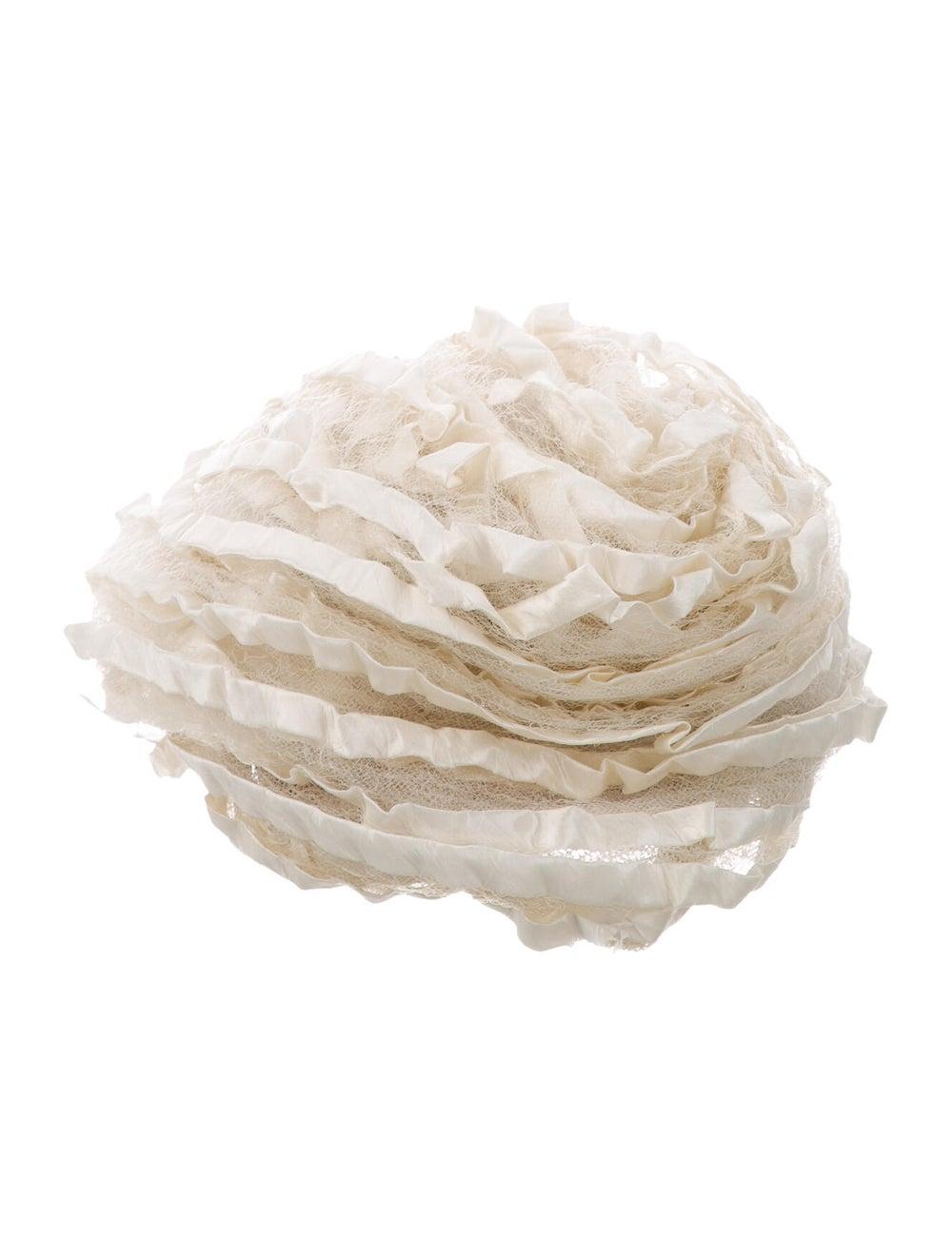 Christian Dior Satin Lace Bucket Hat - image 1