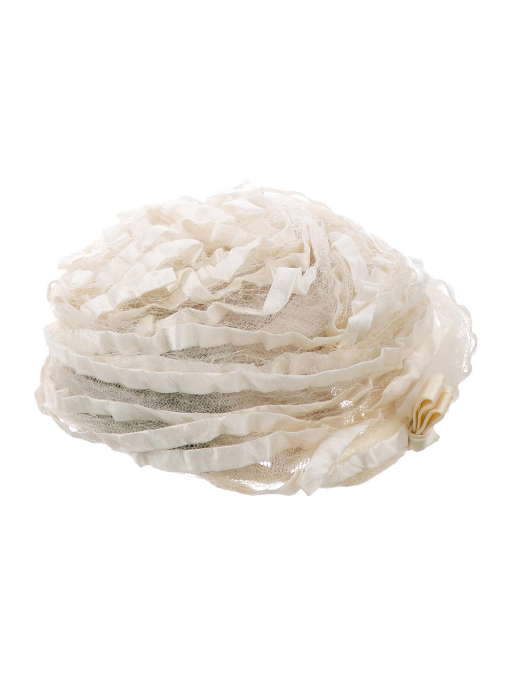 Christian Dior Satin Lace Bucket Hat - image 2