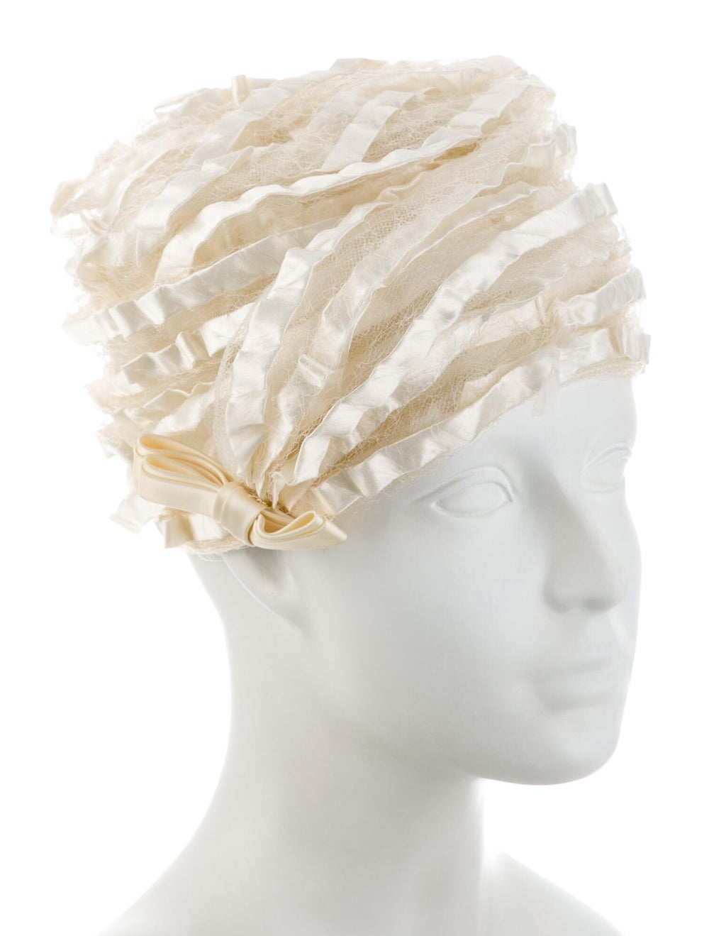 Christian Dior Satin Lace Bucket Hat - image 3