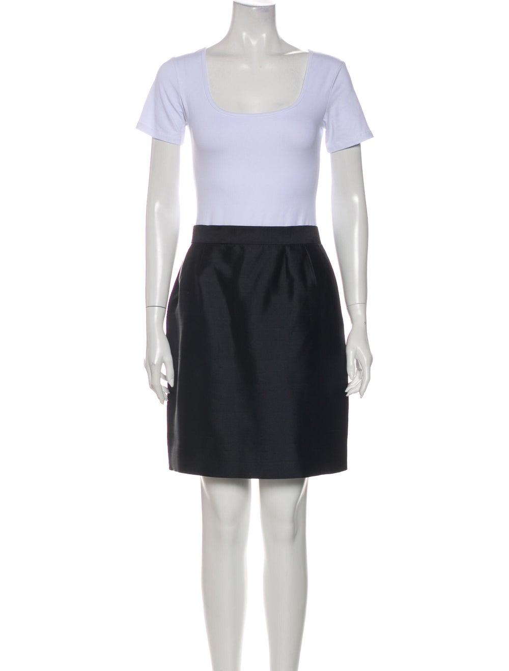 Christian Dior Vintage 1980's Skirt Suit Black - image 4