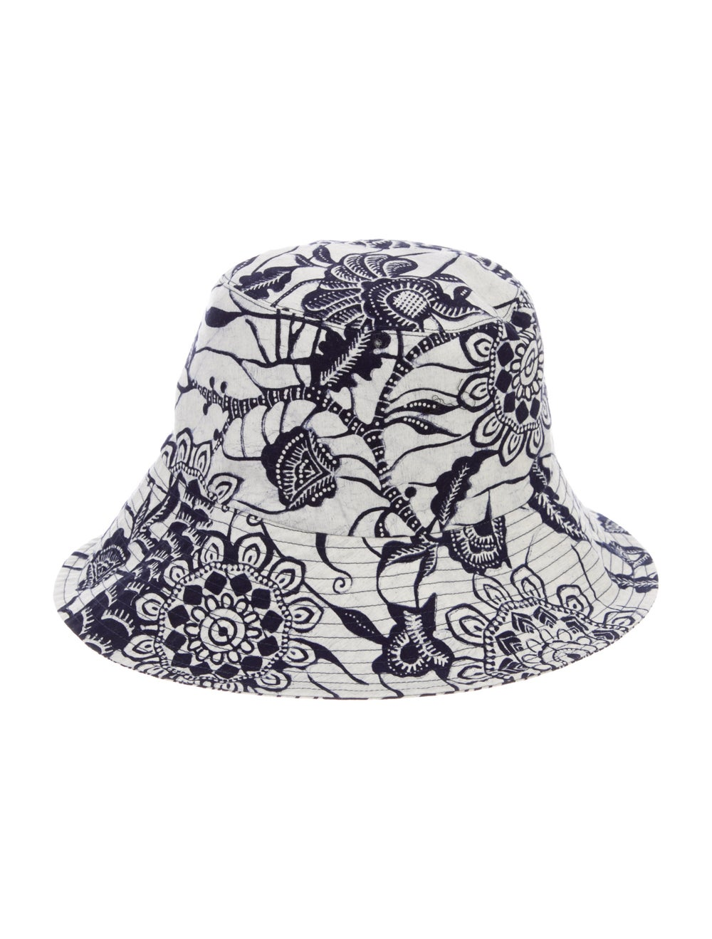 Christian Dior Printed Canvas Bucket Hat Navy - image 2