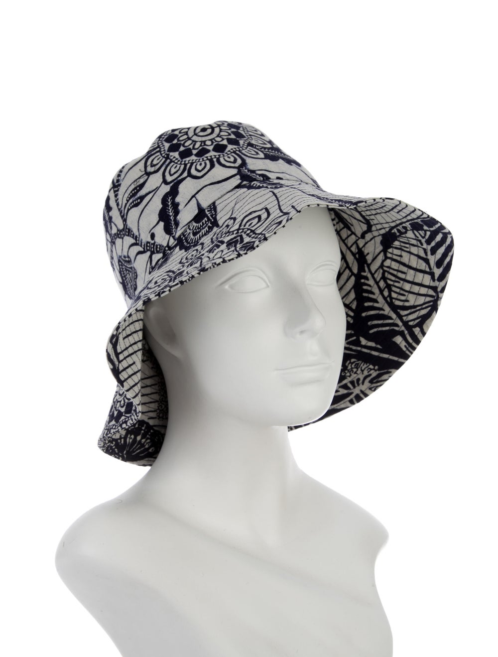 Christian Dior Printed Canvas Bucket Hat Navy - image 3