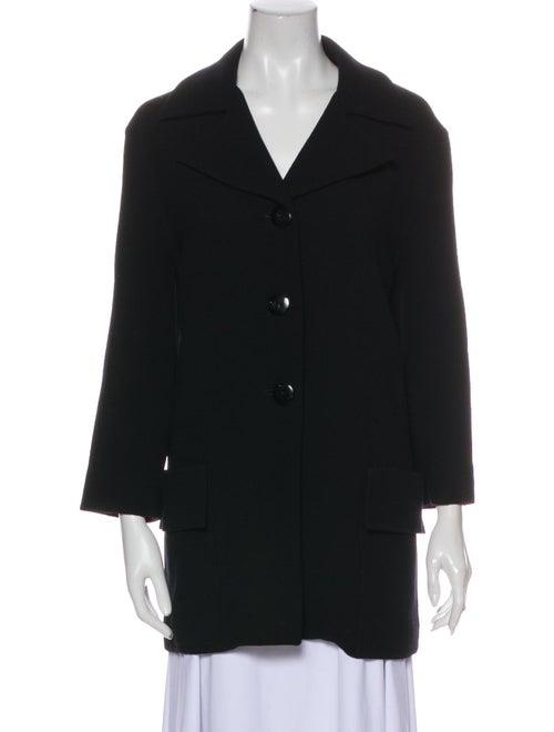 Christian Dior Vintage Coat Black