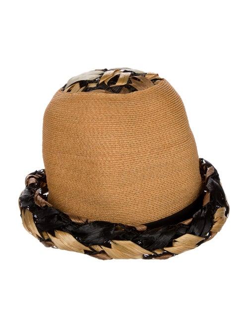 Christian Dior Vintage Straw Hat tan - image 1