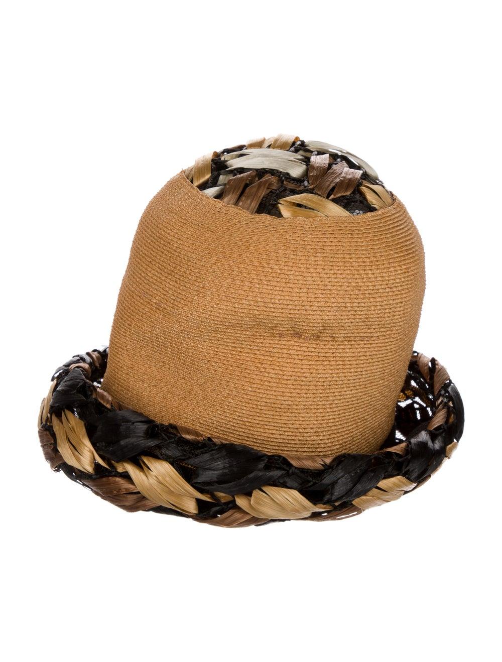Christian Dior Vintage Straw Hat tan - image 2