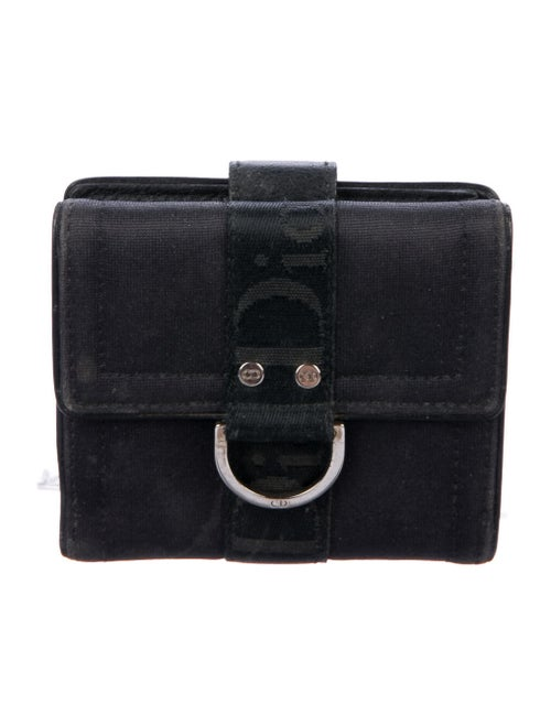 Christian Dior Compact Wallet Canvas Compact Walle