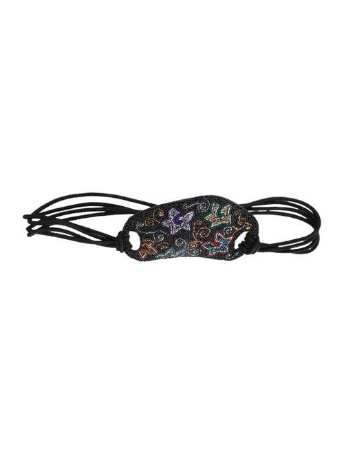 Christian Dior Vintage 1980's Waist Belt Black - image 1