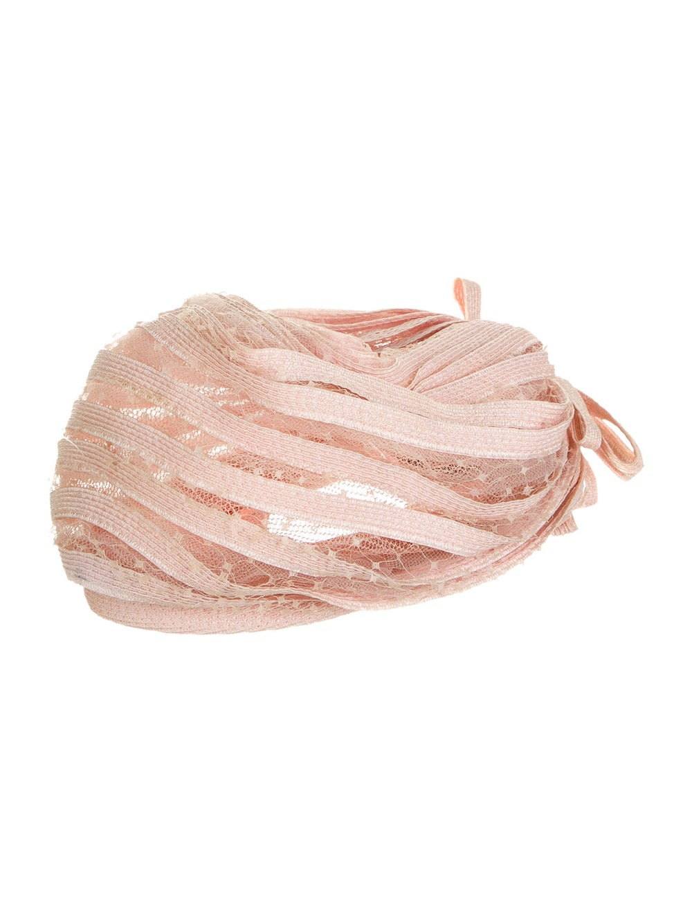Christian Dior Lace Turban Hat Pink - image 2