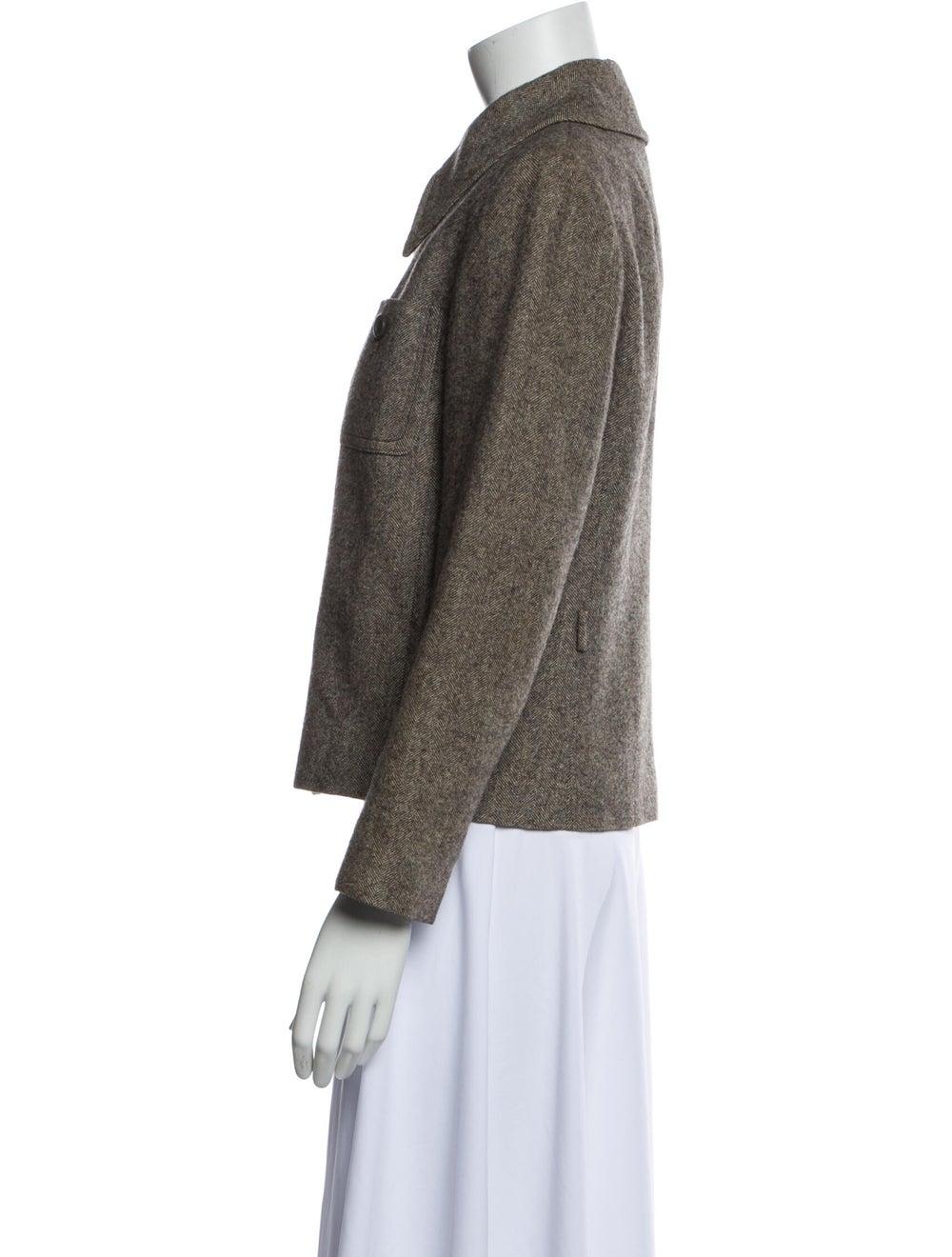 Christian Dior Vintage 1980's Blazer Brown - image 2
