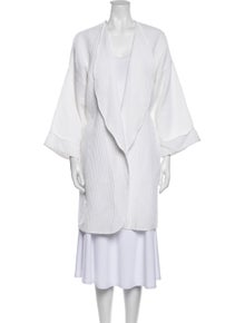 Christian Dior Vintage Embroidered Accent Robe