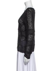 Christian Dior V-Neck Sweater