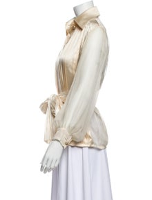 Christian Dior Vintage Late 1980's - Early 1990's Blouse