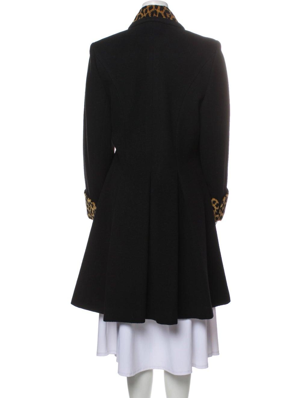Christian Dior Vintage 1980's Coat Black - image 3