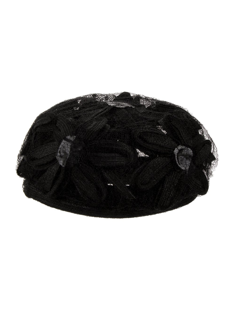 Christian Dior Lace Hat Black - image 2