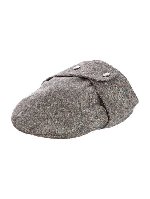 Christian Dior Wool Speckled Hat Grey - image 1