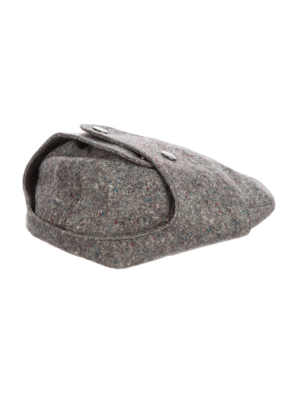 Christian Dior Wool Speckled Hat Grey - image 2