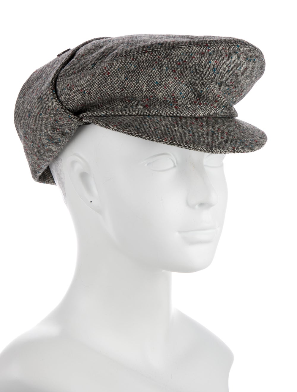 Christian Dior Wool Speckled Hat Grey - image 3