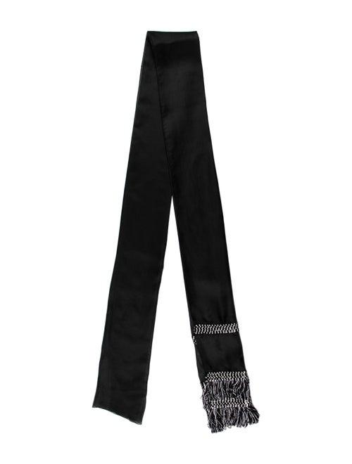 Christian Dior Vintage Scarf Black