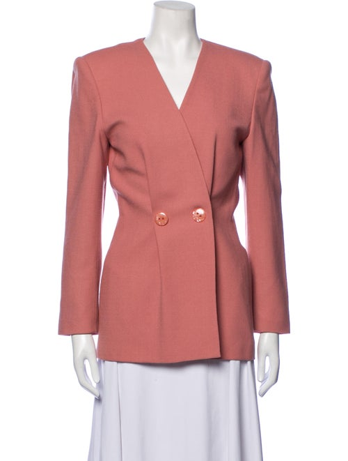 Christian Dior Vintage 1980's Blazer Pink - image 1
