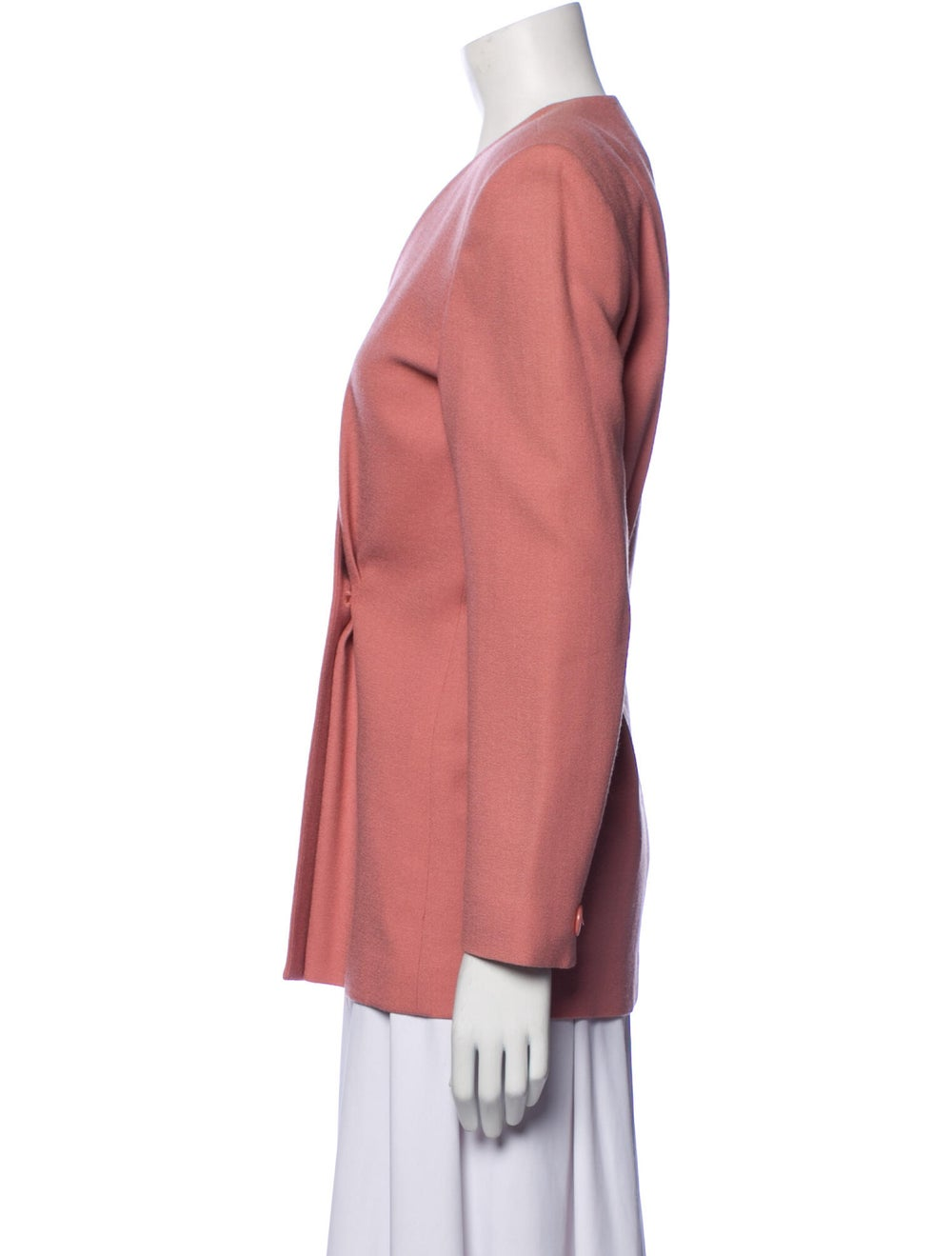 Christian Dior Vintage 1980's Blazer Pink - image 2