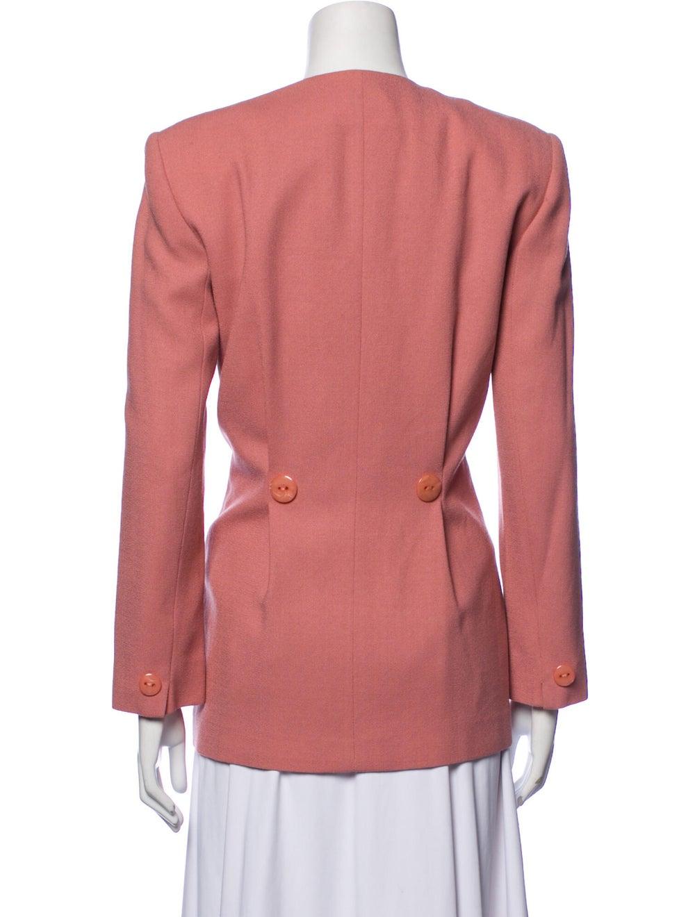 Christian Dior Vintage 1980's Blazer Pink - image 3