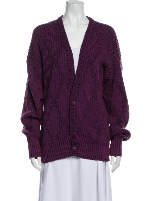 Christian Dior Vintage 1980's Sweater Purple