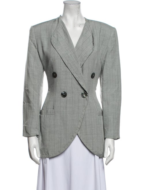 Christian Dior Vintage 1980's Blazer Grey