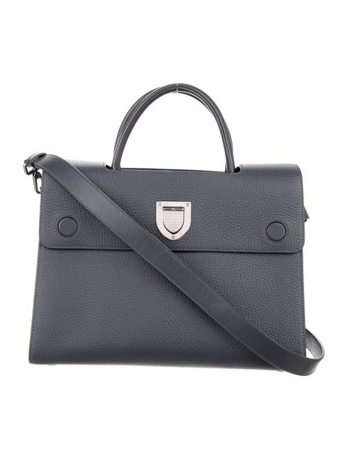 Christian Dior Calfskin Medium Diorever Grey