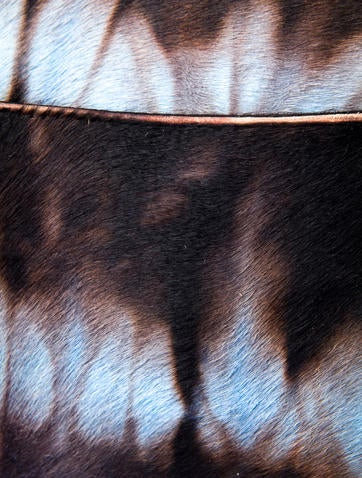 Ponyhair Saddle Bag