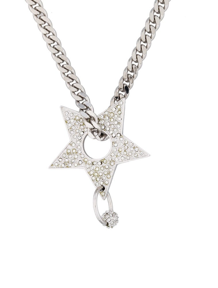 Christian dior star pendant necklace necklaces chr24074 the star pendant necklace mozeypictures Image collections