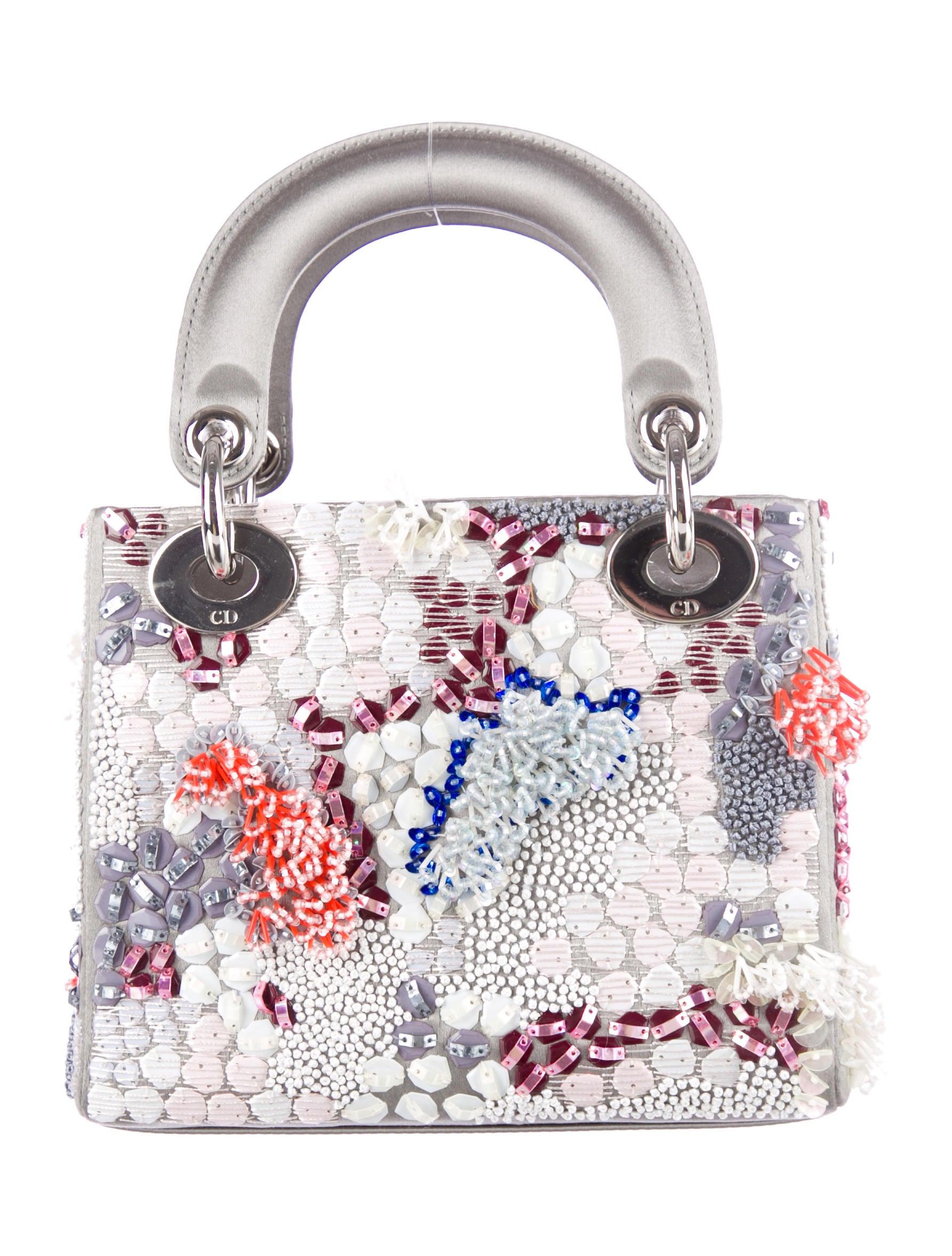 christian dior mini lady dior handbags chr30722 the realreal. Black Bedroom Furniture Sets. Home Design Ideas