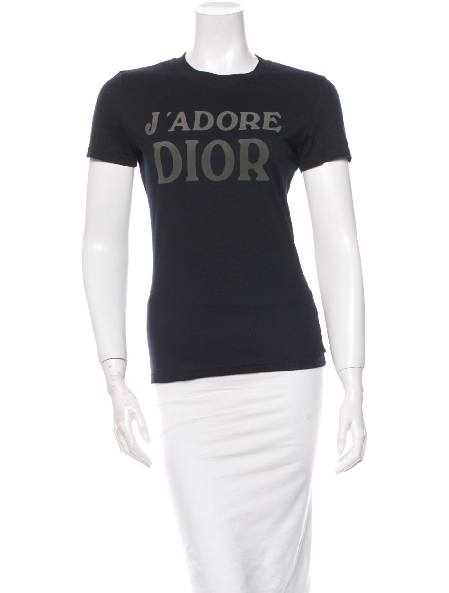 bc421235 Christian Dior T-Shirt - Clothing - CHR30847 | The RealReal