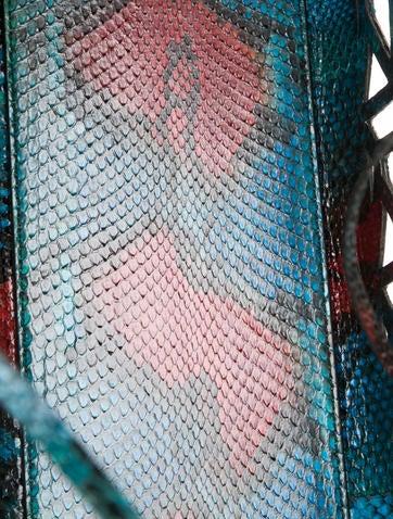 Python Diorissimo Cage Tote
