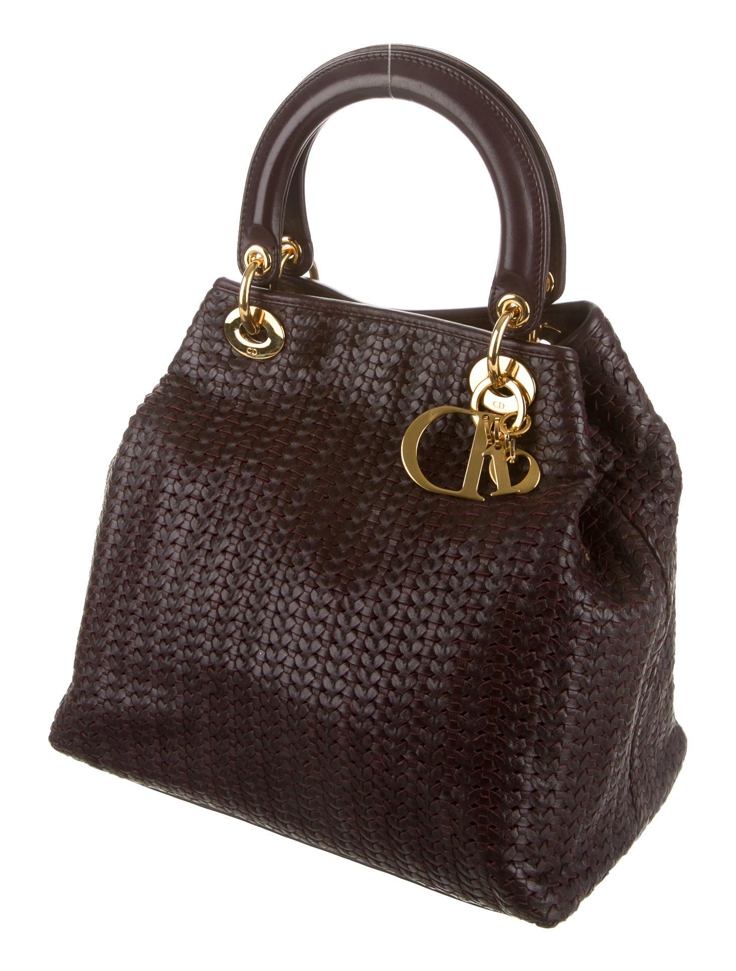 Christian Dior Lady Dior Soft Tote - Handbags - CHR31932 ...