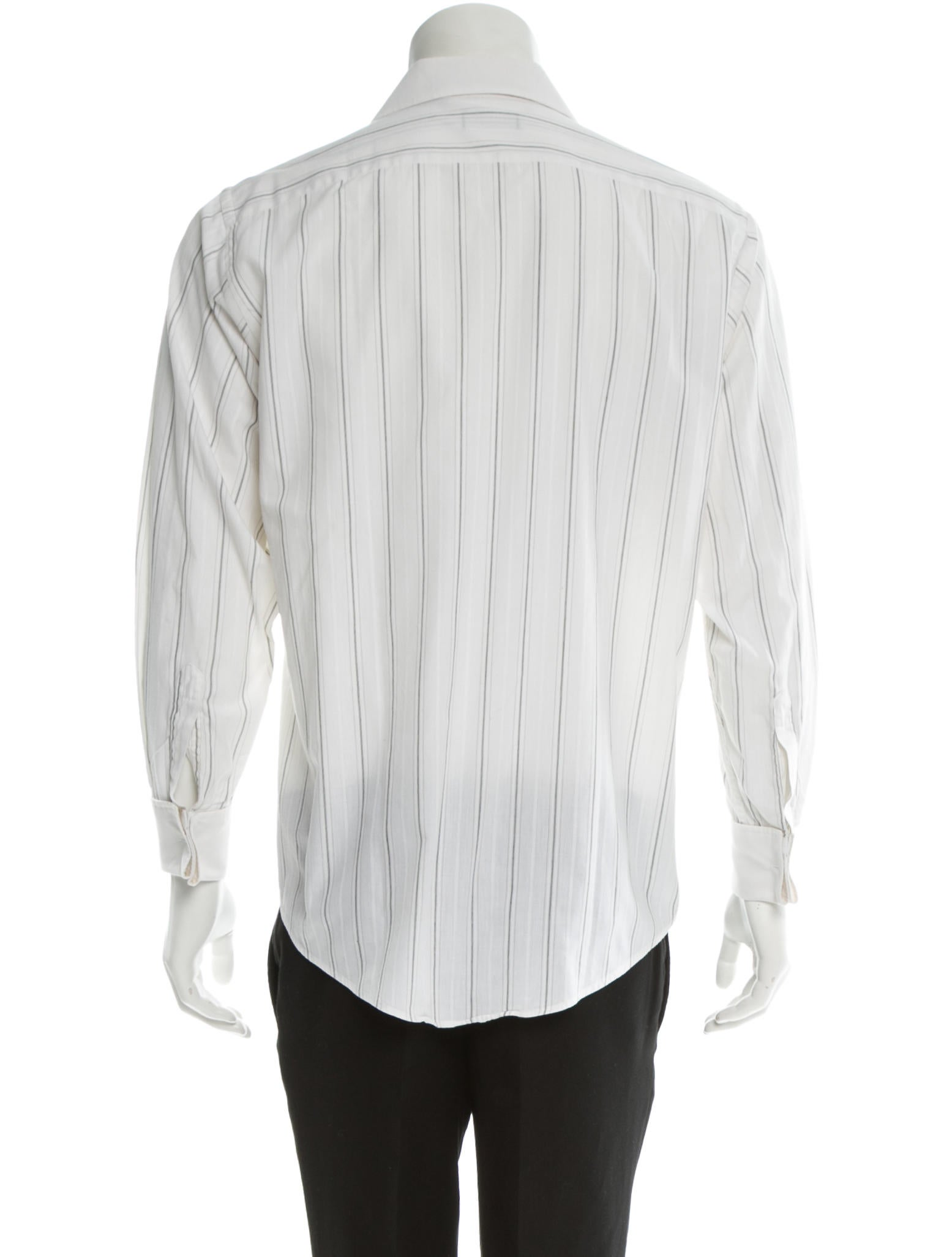 Christian dior shirt clothing chr32800 the realreal for Christian dior button up shirt