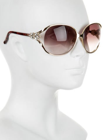 Jewel Embellished Sunglassses