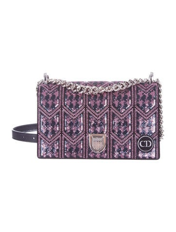 be493d90529f Christian Dior. Small Sequined Diorama Bag