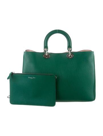 Leather Diorissimo Satchel