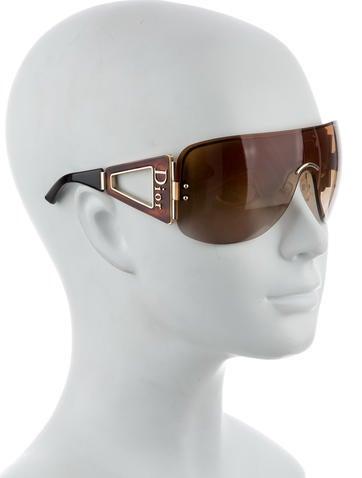 f1223beb27 Christian Dior Escrime 1 Shield Sunglasses - Accessories - CHR36683