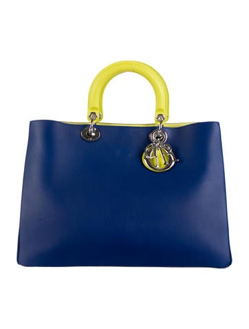 Large Tricolor Diorissimo Bag