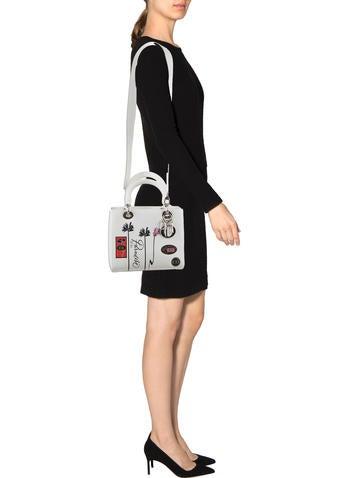 Cruise 2016 Medium Paradise Lady Dior Bag