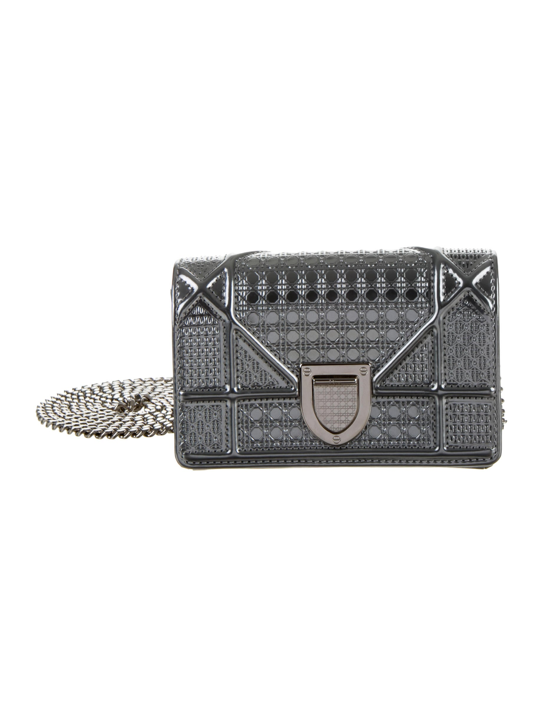 fbfb7b012479 Christian Dior Micro Diorama Flap Bag - Handbags - CHR38913