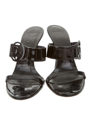 Logo-Embellished Slide Sandals