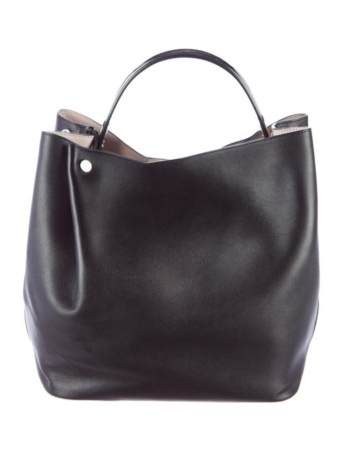 479a7d583fd Christian Dior Diorific Leather Bucket Bag - Handbags - CHR41052 ...