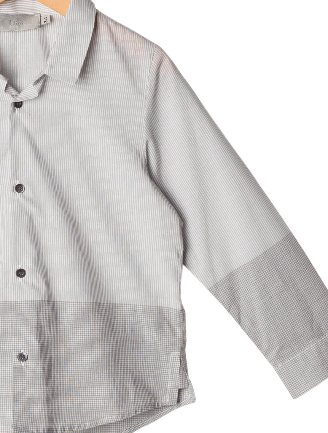 christian dior boys 39 button up shirt boys chr41275