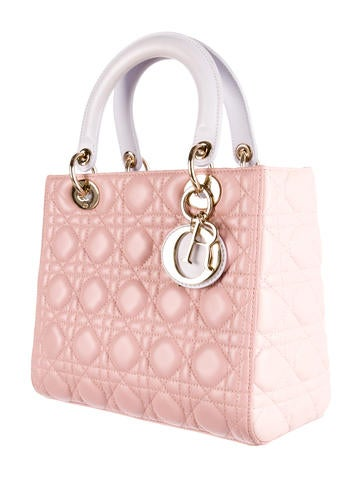 Tricolor Medium Lady Dior Bag