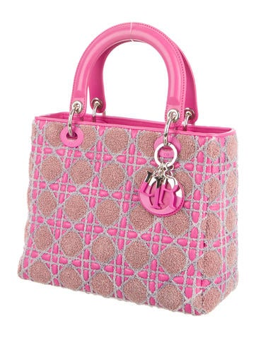 Tricolor Medium Lady Dior Bag