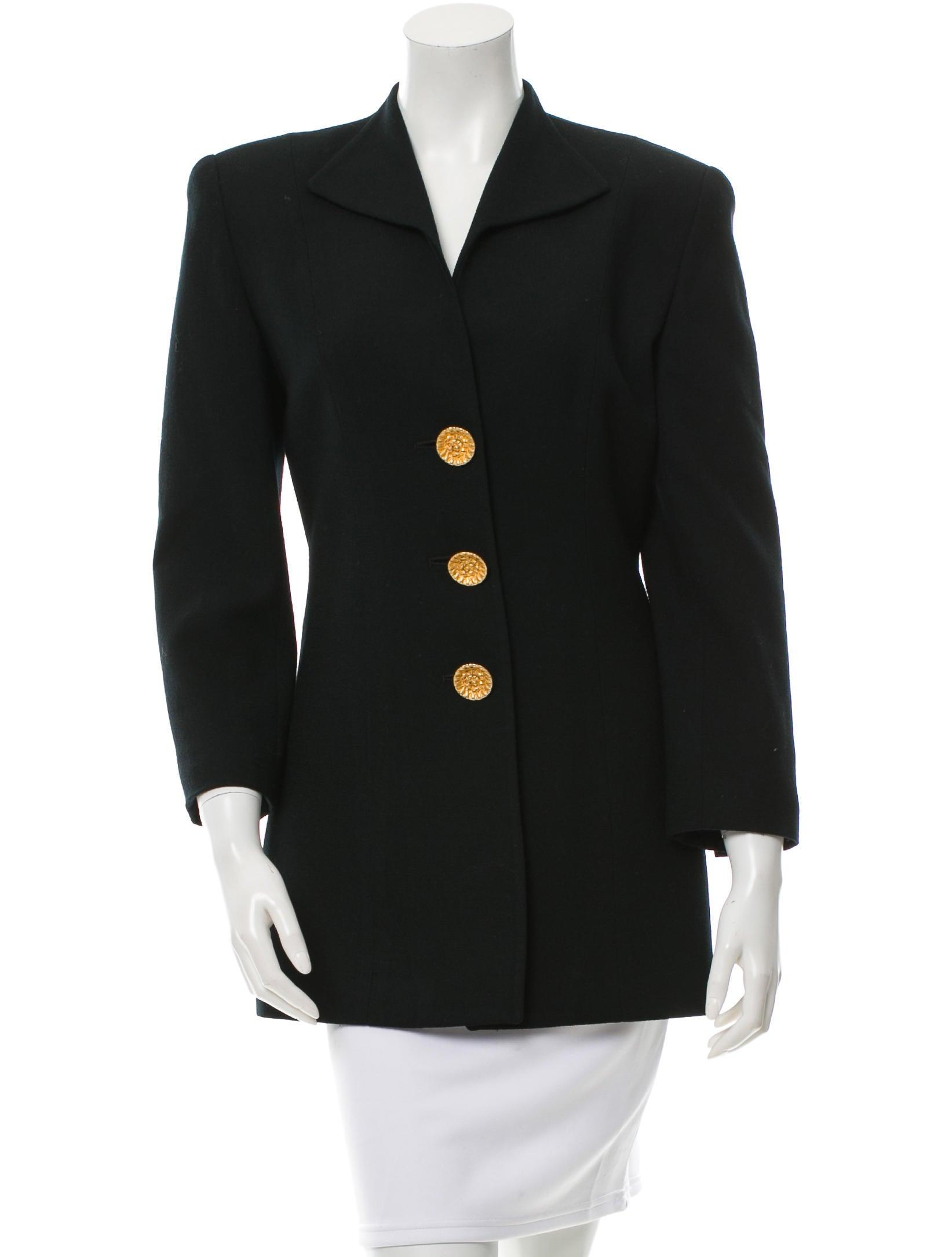 Christian dior wool button up blazer clothing chr42651 for Christian dior button up shirt